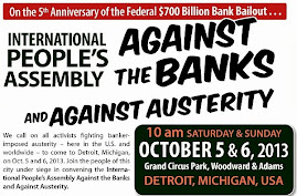 International Peoples Assembly Against Banks & Austerity